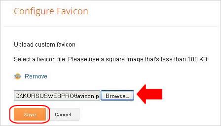 cara merubah  favicon blogspot