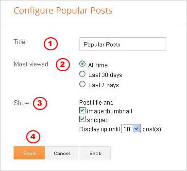 Cara Membuat Daftar Posting Populer