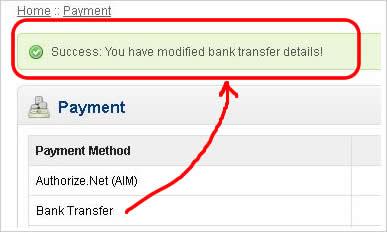 Cara Setting Metode Pembayaran Bank Transfer