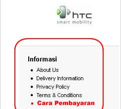 cara menambahkan menu Informasi Opencart