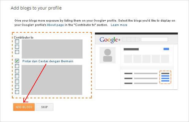 Cara share posting ke Google Plus