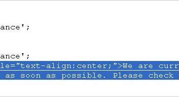 Cara Merubah Pesan Mode Offline pada Toko Online Opencart